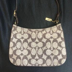 Coach Brown & Tan Handbag